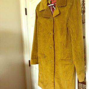 MISSONI for Target Corduroy Trench Jacket
